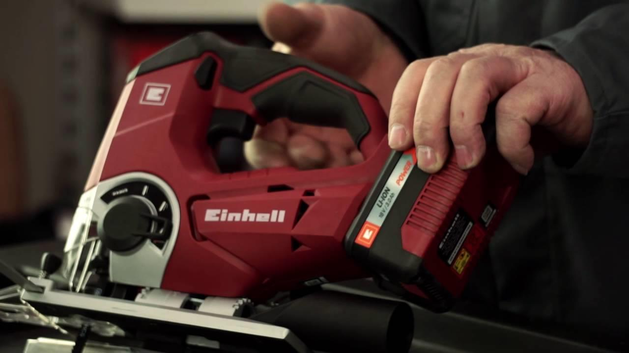 Outil Einhell en action